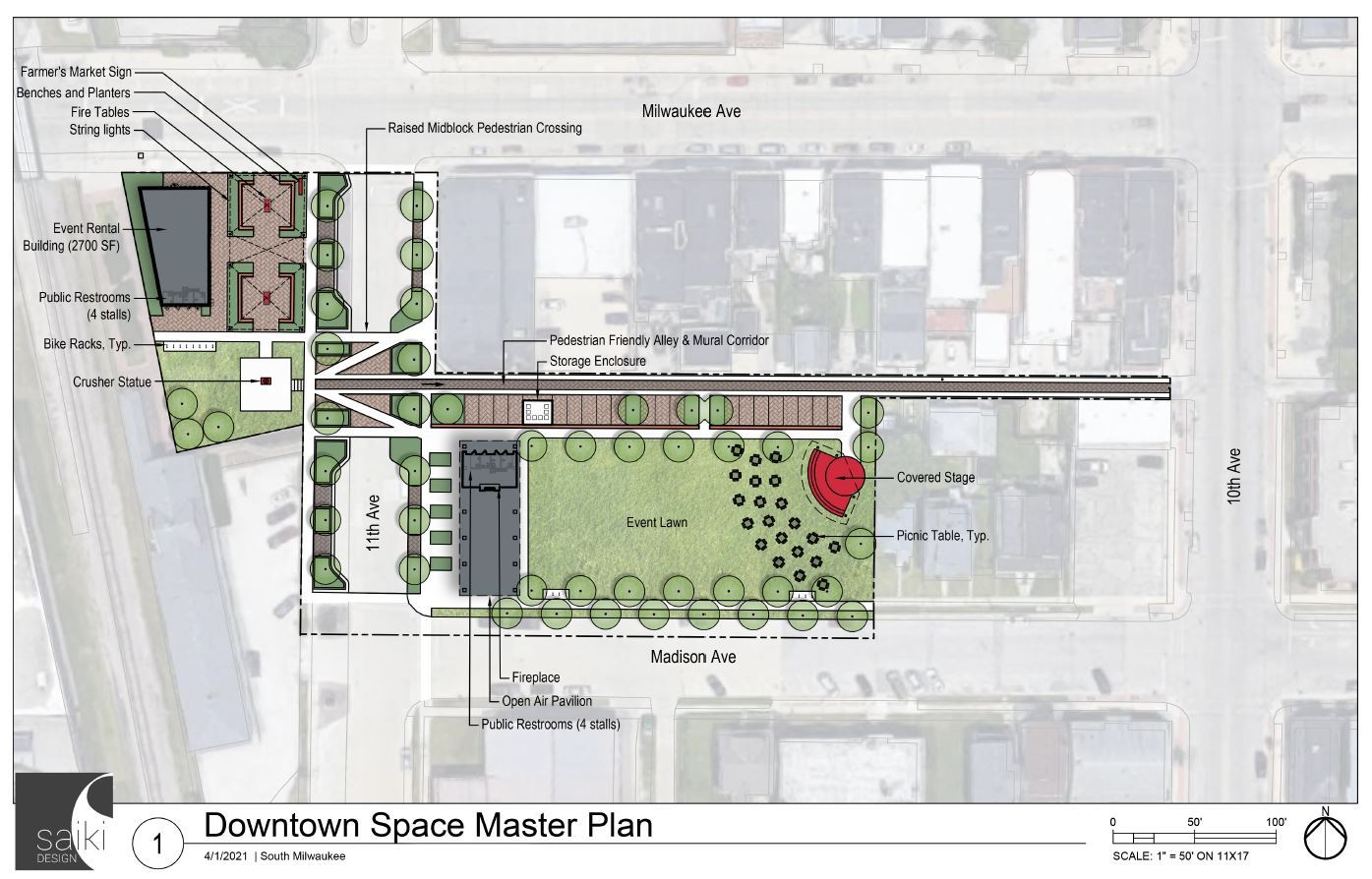 Downtown Space Master Plan