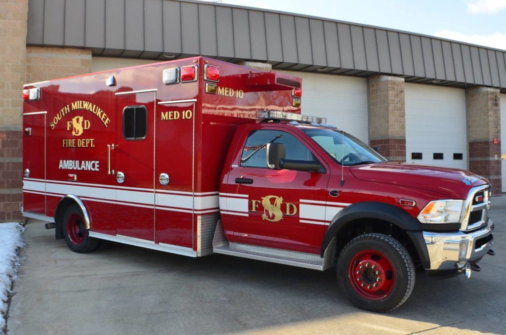 South Milwaukee Fire Department Ambulance