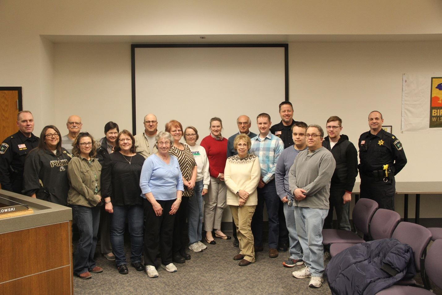 Citizens Academy Members